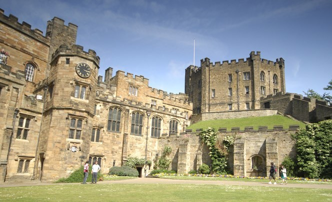 The grounds of Durham Castle